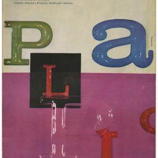 INDUSTRIAL DESIGN 3, June 1956. New York: Whitney Publications, Inc., [Vol. 3, No. 3]. The Plastics Industry and Design.