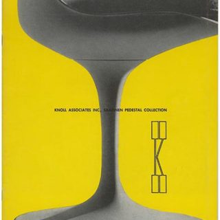 Knoll Associates: SAARINEN PEDESTAL COLLECTION. New York: Knoll Associates, Inc., 1966. Design/photography by Herbert Matter.
