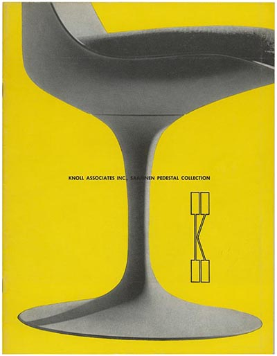 Knoll associates saarinen pedestal for Knoll associates