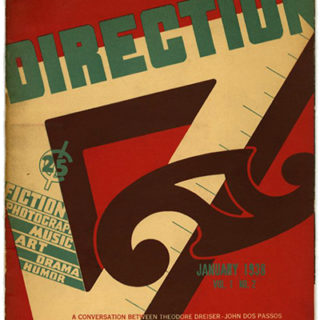 DIRECTION Volume 1, No. 2, January 1938. Le Corbusier: When the Cathedrals were White and Paintings.