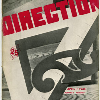 DIRECTION Volume 1, No. 4, April 1938. Painting On The Wall: Gilbert Brown Wilson's Murals for the High School in Terre Haute, IN.