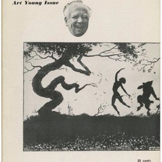 DIRECTION Volume 7, No. 2, April-May 1944. The Art Young Issue, edited by M. Tjader Harris and Edwin Seaver.
