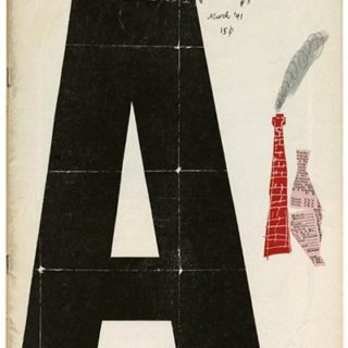 DIRECTION Volume 4, No. 3, March 1941. Paul Rand Cover Design; The Art in Industry Issue.