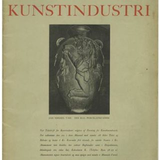 Danish Society of Arts and Crafts: NYT TIDSSKRIFT FOR KUNSTINDUSTRI. Copenhagen: Aargang 1, Marts 1928. Sigurd Schultz [Editor].