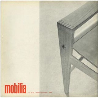 Mobilia no. 51–52. Snekkersten, DK: Volume XXV,  October–November 1959. Ib Geertsen, Jørgen Bo, Cabinet-Makers Guild 33rd Exhibition, Louis Foght.