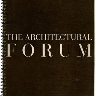 ARCHITECTURAL FORUM December 1939. Houses by Walter Gropius & Marcel Breuer and DeWitt and Washburn for Stanley Marcus; Shops by Alexander H. Girard, George Nelson, Gilbert Rohde, Raymond Loewy, and