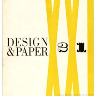 Beall, Lester [Designer]: DESIGN AND PAPER no. 21. New York: Marquardt & Company Fine Papers, n. d. [1945]. The Industrial Design of Raymond Loewy Associates.