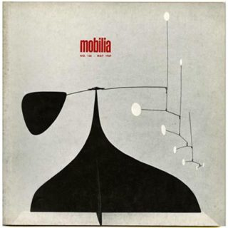 Mobilia no. 166, May 1969. Alexander Calder, Torun Bulow-Hube Jewelry.
