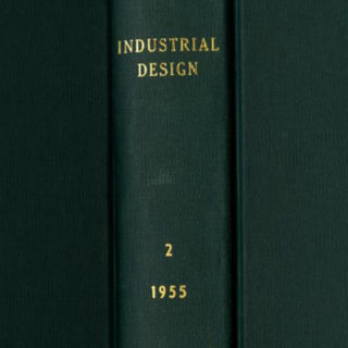 INDUSTRIAL DESIGN Volume 2, Nos. 1 – 6, February 1955 – December 1955. New York: Whitney Publications, Inc.