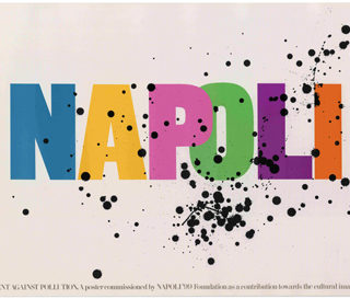 Fletcher, Alan: NAPOLI [Poster]. London: Pentagram, 1984.