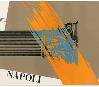 Gottschalk + Ash International: NAPOLI [Poster]. Lissone, Italy: Arti Grafiche Meroni, [1985].