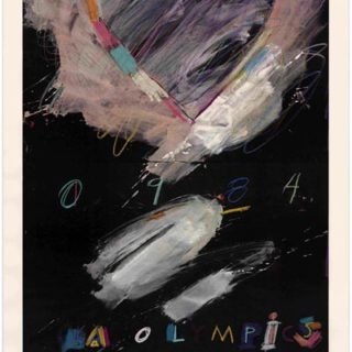 Saunders, Raymond: LOS ANGELES 1984 OLYMPIC GAMES [poster title]. Los Angeles: Knapp Communications Corp., [1982].