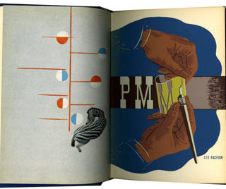 PM / A-D: The Fifth Year, October 1938 to September 1939. The Composing Room: Bound edition of 400 copies.