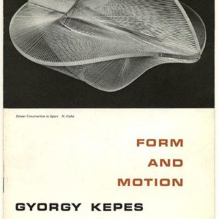 Kepes, György: FORM AND MOTION. Chicago: Society of Typographic Arts, 1954.