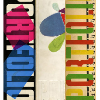Brodovitch, Alexey: PORTFOLIO 1 – 3 [A Magazine for the Graphic Arts]. Cincinnati: Zebra Press with Duell, Sloane and Pierce, Winter 1950 – Spring 1951.