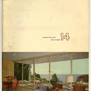 BOOK OF HOMES 14. San Francisco: Home Publications, 1958. Edited by Donald Canty.
