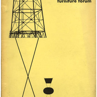 FURNITURE FORUM, April 1951. Englewood, NJ: Phillip L. Pritchard [Volume 2, Number 3].