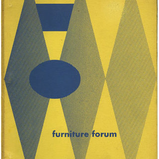 FURNITURE FORUM, June 1953. Englewood, NJ: Phillip L. Pritchard [Volume 4, Number 2].