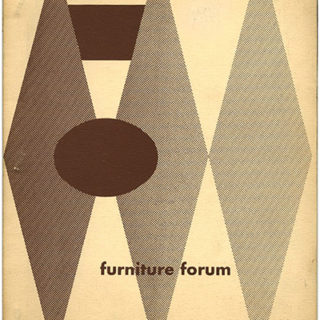 FURNITURE FORUM, September 1953. Englewood, NJ: Phillip L. Pritchard [Volume 4, Number 3].
