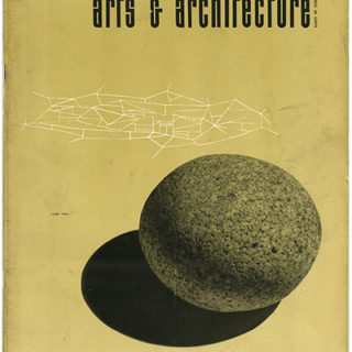ARTS AND ARCHITECTURE, June 1953. Craig Ellwood Case Study House: 13 pages with 31 photographs and floor plans.