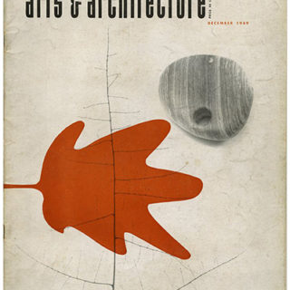 ARTS AND ARCHITECTURE, December 1949. Case Study House No. 8, 1949, Charles Eames.