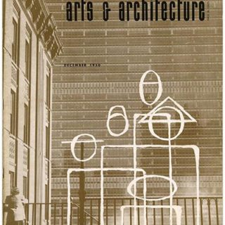 ARTS AND ARCHITECTURE, December 1950. Raphael Soriano Case Study House 1950, TAC on Cape Cod.