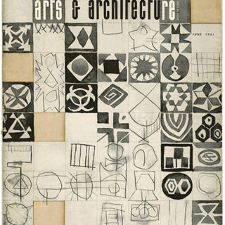 ARTS AND ARCHITECTURE, June 1951. Van Keppel Green Furniture; Konrad Wachsmann, etc.