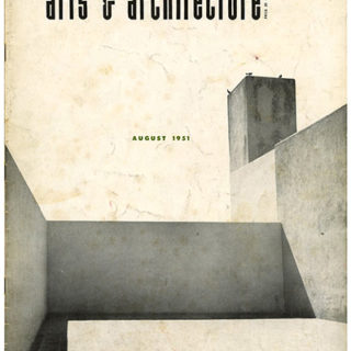 ARTS AND ARCHITECTURE, August 1951. Architecture in Mexico by Esther McCoy.