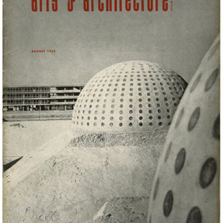 ARTS AND ARCHITECTURE, August 1952. The New University City Of Mexico by Esther McCoy.
