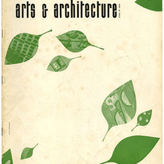 ARTS AND ARCHITECTURE, July 1953. Form in Glass and Plywood: Tapio Wirkkala; Notes on Greene & Greene by Esther McCoy.