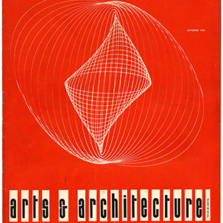 ARTS AND ARCHITECTURE, September 1953. Four R. M. Schindler Houses Of The '20s: Esther McCoy.