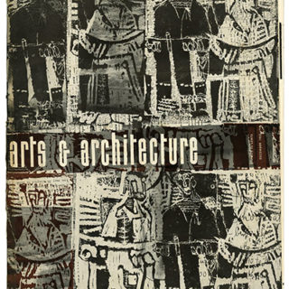 ARTS AND ARCHITECTURE, December 1953. School With A Style: Jules Langsner on The Immaculate Heart Style.