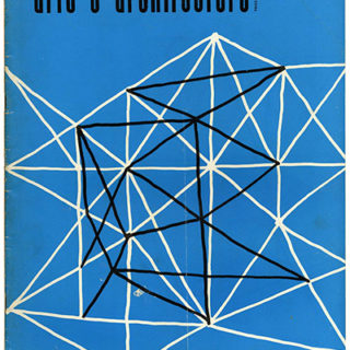 ARTS AND ARCHITECTURE, May 1954. R. M. Schindler (1890–1953) Material Correlated by Esther McCoy.
