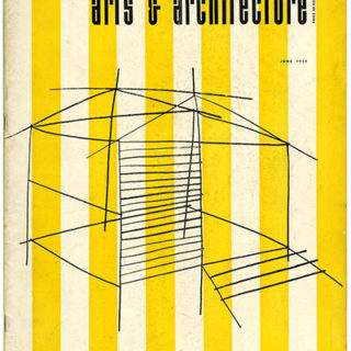 ARTS AND ARCHITECTURE, June 1954. Four Artist-Craftsmen At The San Francisco Museum Of Art: Asawa, Dean, Wildenhain, and Renk.