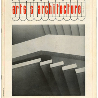 ARTS AND ARCHITECTURE, October 1955. Harry Bertoia: Light & Structure.