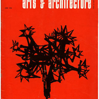 ARTS AND ARCHITECTURE, June 1958. Case Study House 18: Craig Ellwood.