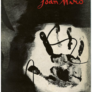 MIRO. Pierre Matisse Gallery: JOAN MIRO. New York, 1936. 12 pages with 4 tipped-in plates.