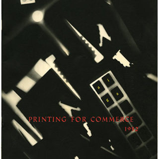 AIGA: PRINTING FOR COMMERCE 1952. New York: The American Institute of Graphic Arts, 1952.