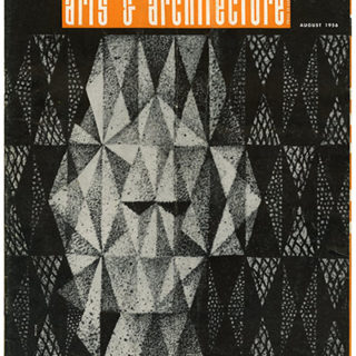 ARTS AND ARCHITECTURE, August 1956. June Wayne—Imagist; Finnish Crafts—Tapio Wirrkala & Rut Bryk.