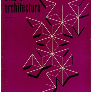 ARTS AND ARCHITECTURE, December 1956. Eugene Weston III and Craig Ellwood houses.