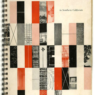 Lustig, Alvin [Designer]: A GUIDE TO CONTEMPORARY ARCHITECTURE IN SOUTHERN CALIFORNIA. Los Angeles: Watling and Company, 1951. (Duplicate)