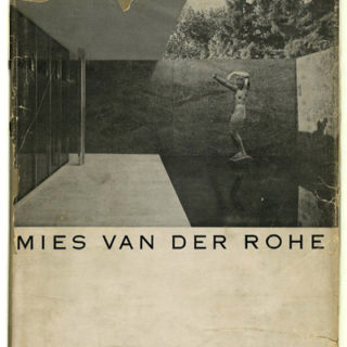 MIES VAN DER ROHE. Philip Johnson for the Museum of Modern Art, New York, 1947. First English monograph devoted to Mies van der Rohe.