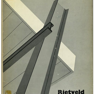 RIETVELD. Theodore M. Brown: THE WORK OF G. RIETVELD ARCHITECT. Cambridge: The MIT Press, [1969].