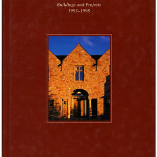 STERN. An Inscribed Copy: ROBERT A.M. STERN: BUILDINGS AND PROJECTS 1993–1998. New York City: Monacelli Press, 1998.