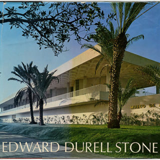 Stone, Edward Durell: RECENT AND FUTURE ARCHITECTURE. New York: Horizon Press, 1967.