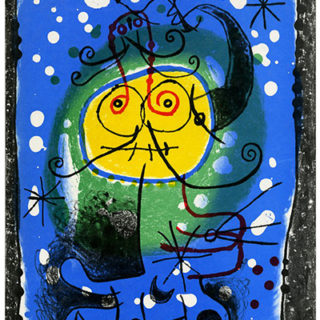 MIRO. XXe Siècle New Series: THE REVOLUTION OF COLOR [XXIInd Year, No. 15, Christmas 1960]. New York: Tudor Publishing Co., 1960.