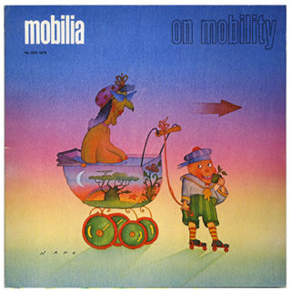 Mobilia no. 289, 1979. Mobility: Motorcycles, Cars; The Castor; The Dream of Simplicity.