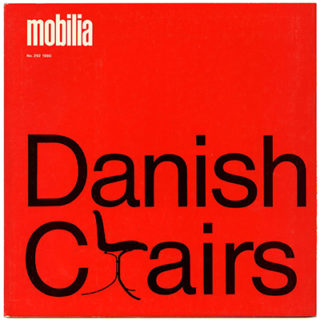 Mobilia no. 292, 1980. Danish Chairs Poster supplement.