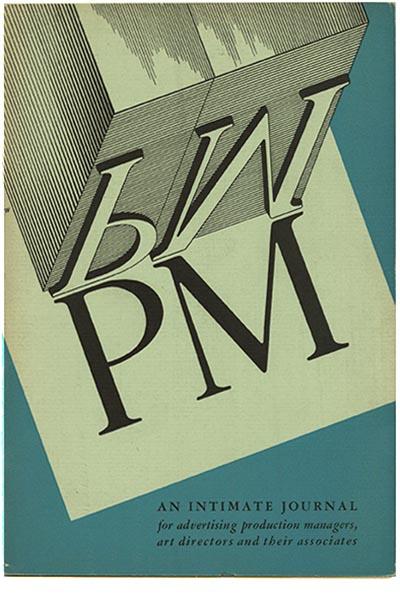 Modernism101 Com Pm A D September 1934 Vol 1 No 1 Robert L Leslie And Percy Seitlin Editors Martin Weber Art Director